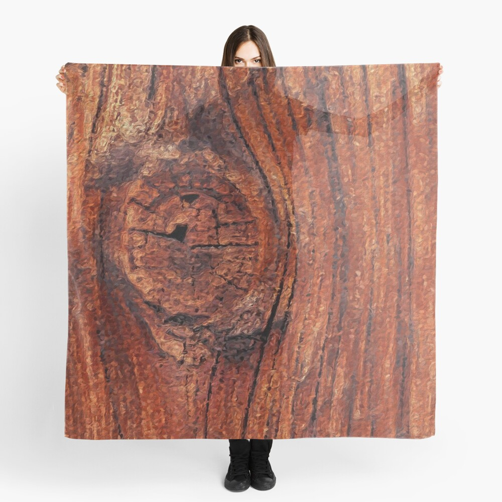 Wood Knot Scarf