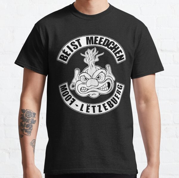 MooF Béist Meedchen  Classic T-Shirt