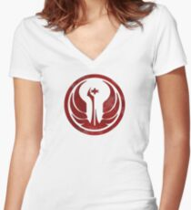 The Old Republic Women's Fitted V-Neck T-Shirt