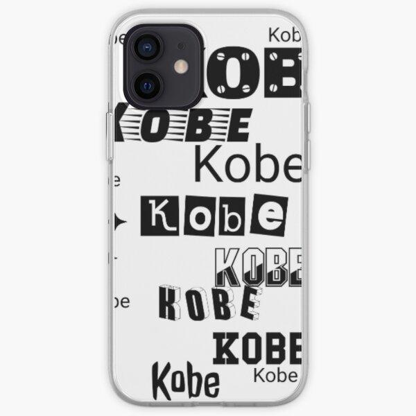 Kobe Bryant Coque souple iPhone