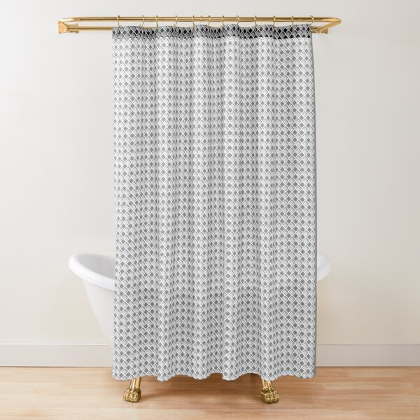 Southern Lite Pattern Shower Curtain