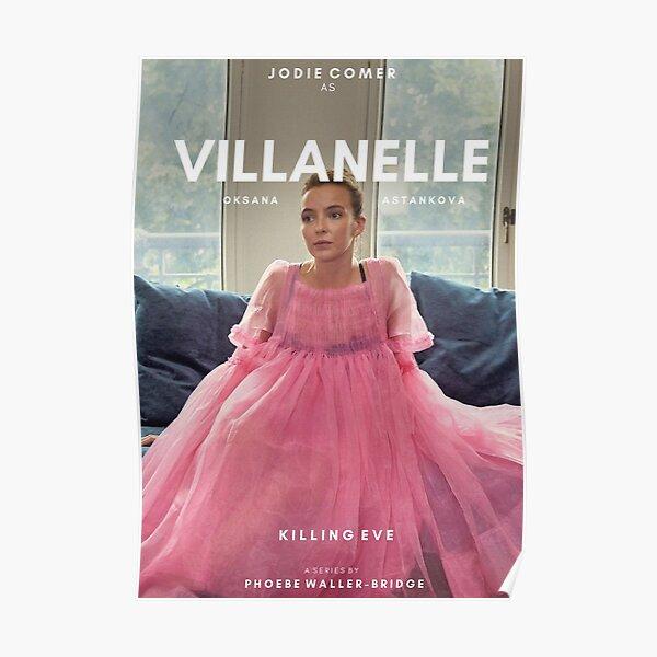 Diseño Villanelle 2 Póster