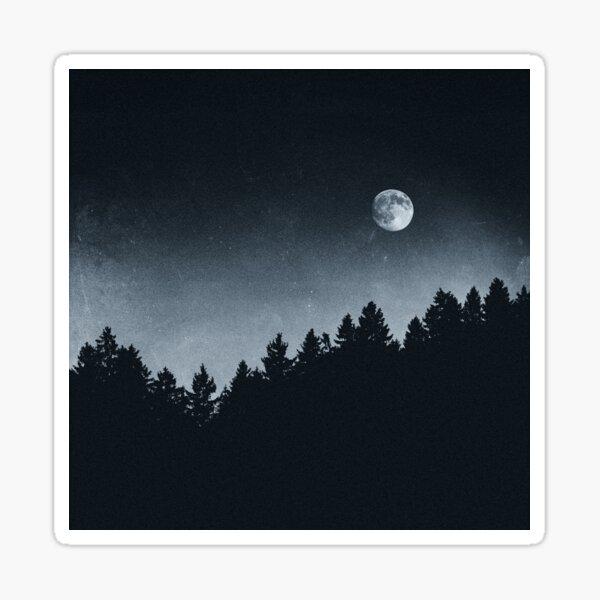 Under Moonlight Sticker