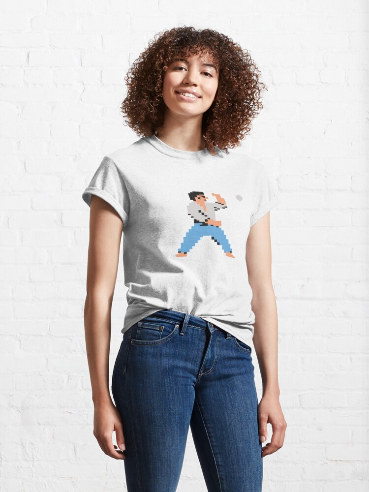 Alternate view of Karate Petanque (Solo) Classic T-Shirt
