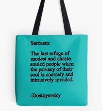 Fyodor, Dostoyevsky, quote Tote Bag