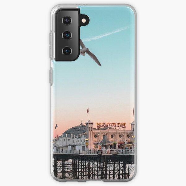 Brighton sunset Samsung Galaxy Soft Case