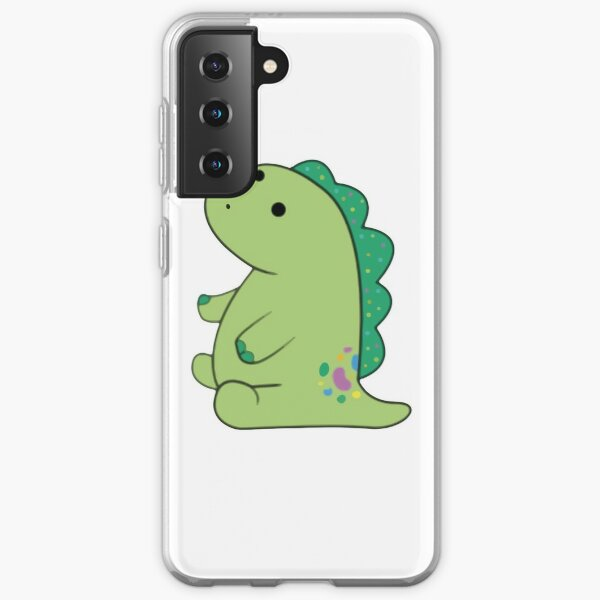 pickle the dinosaur Samsung Galaxy Soft Case