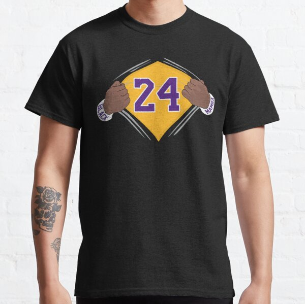 Kobe Bryant 24 Black Mamba Lakers Classic T-Shirt