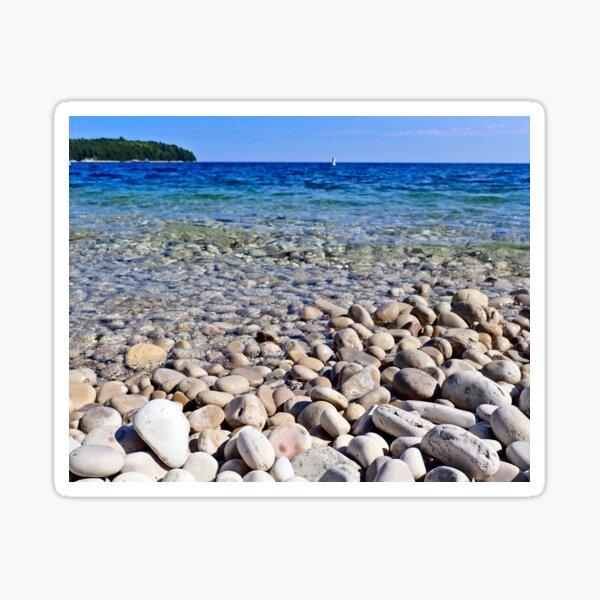 School House Beach Rocks! Sticker