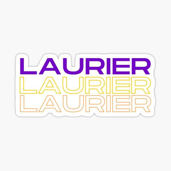 Laurier Laurier Laurier Sticker