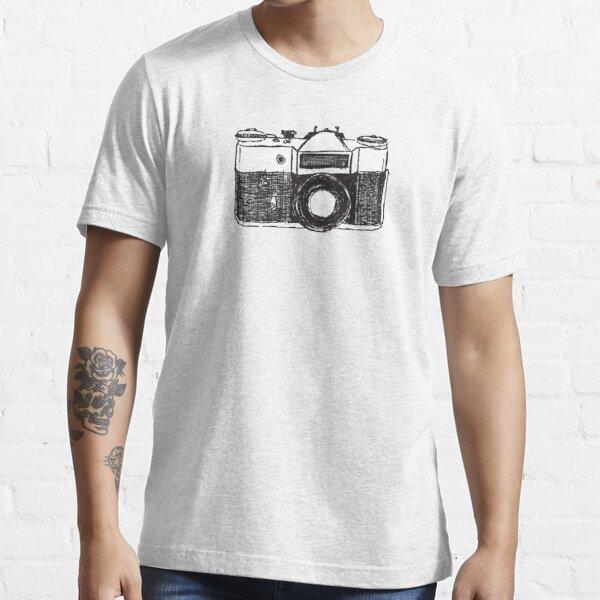 Appareil Photo Rétro Carl Zeiss photographie logo T-Shirt Jena Lens