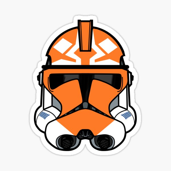 Ahsoka (501st) Clone helmet Sticker