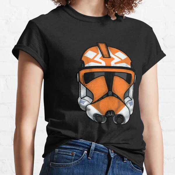 Ahsoka (501st) Clone helmet Classic T-Shirt