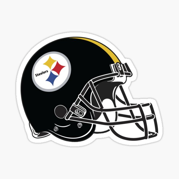 steelers helmet Sticker