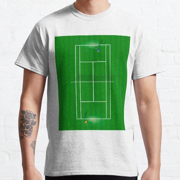 Wimbledon Tennis Court From Above  Classic T-Shirt