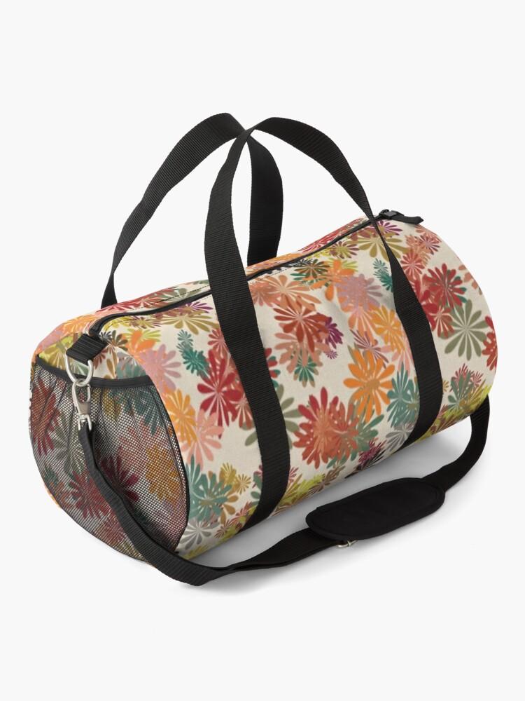 Alternate view of Winter Flower Duffle Bag