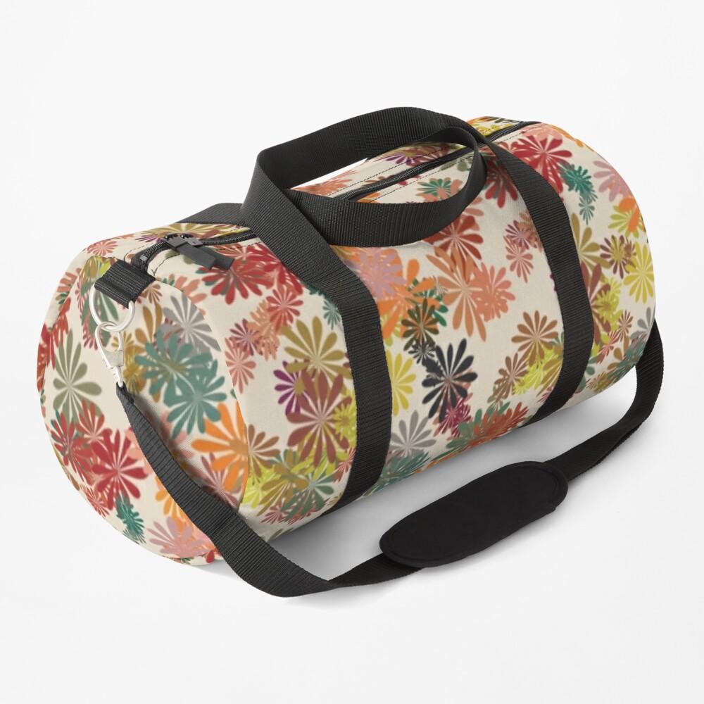 Winter Flower Duffle Bag