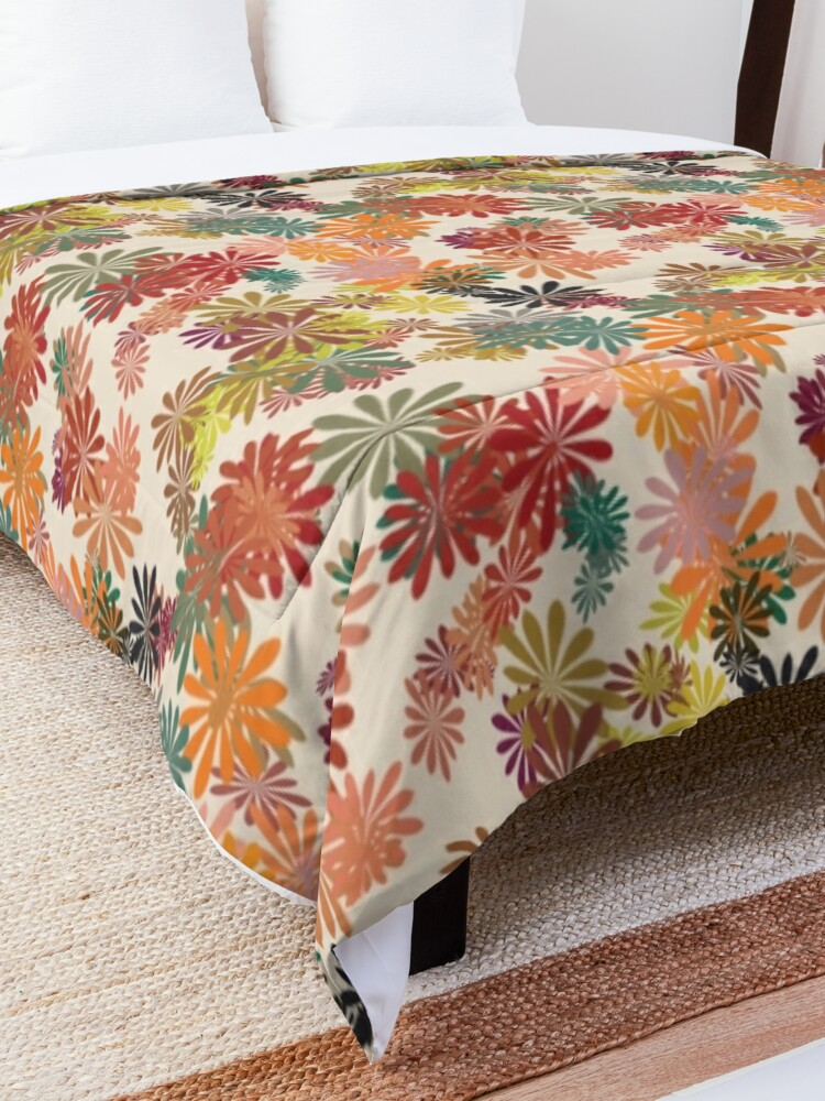 Alternate view of Winter Flower Comforter