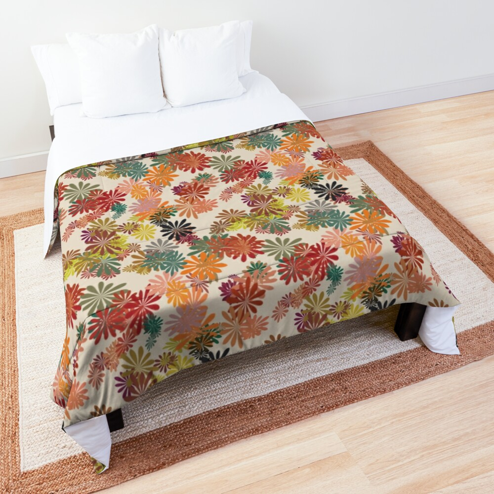 Winter Flower Comforter