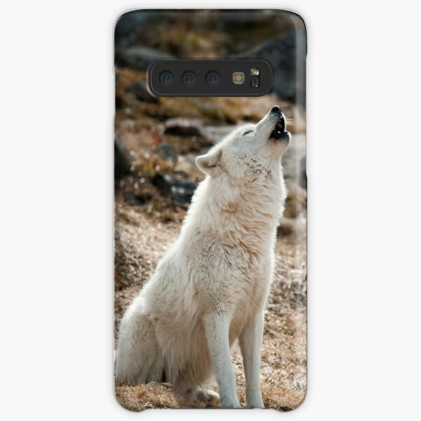 Howling Arctic Wolf Samsung Galaxy Snap Case
