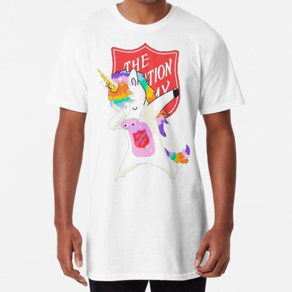 The Salvation Army Unicorn dabbing shirt  Long T-Shirt