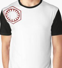 First Order Logo RED Graphic T-Shirt