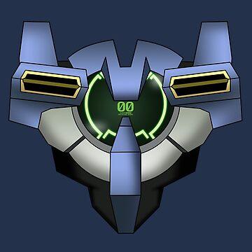 Gundam 00 Chest by finchzero