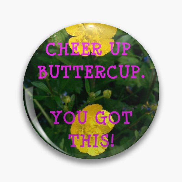 Pink Buttercup - Large Pin