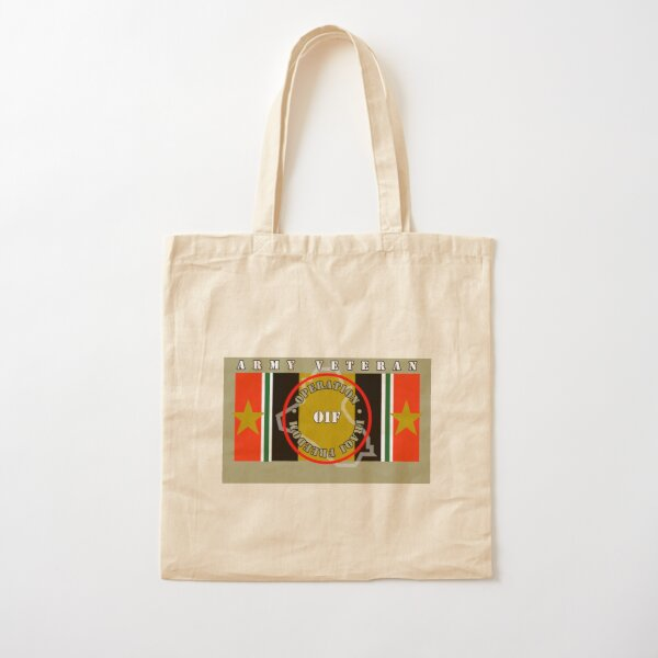 OPERATION IRAQI FREEDOM, ARMY - FLAG BLANKETS Cotton Tote Bag