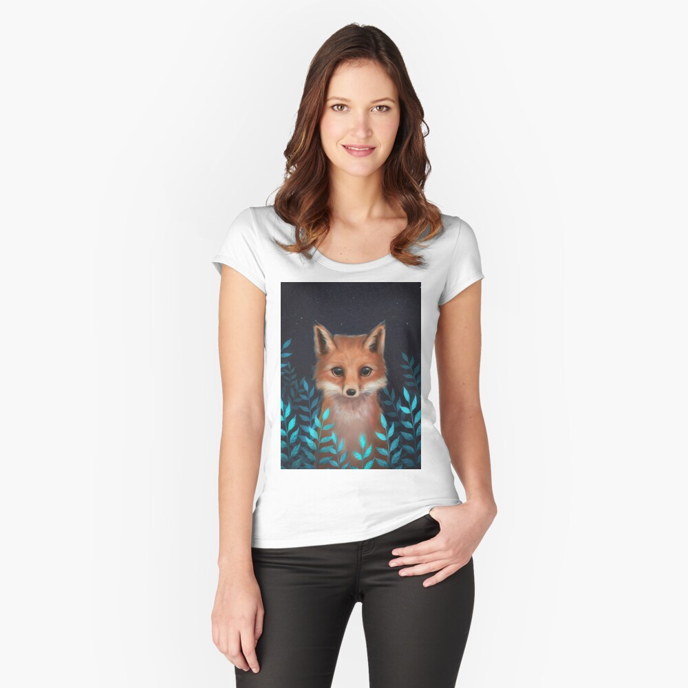 Fox Fitted Scoop T-Shirt