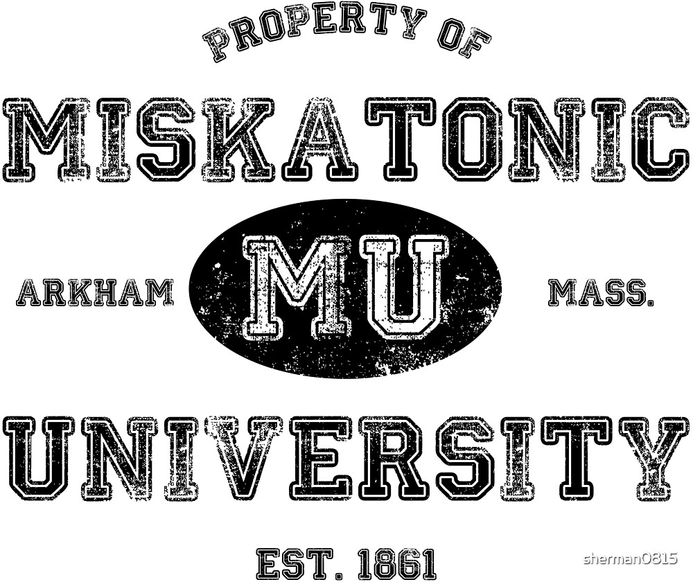 Miskatonic University by sherman0815