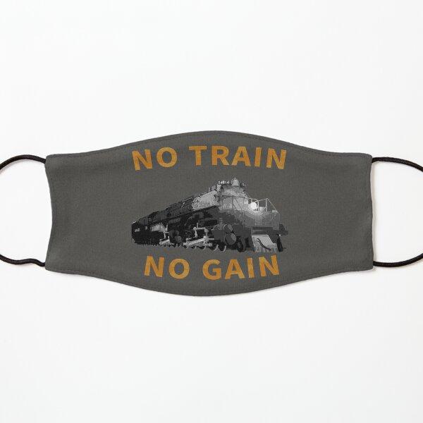 No Train No Gain - Big Boy Locomotive Kids Mask