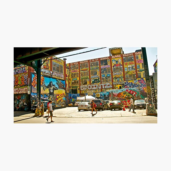Finale for 5 Pointz~~ Photographic Print