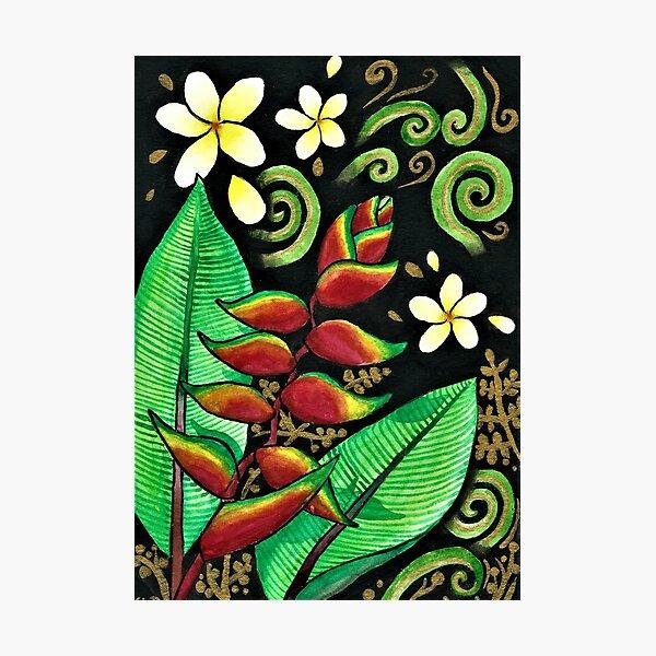 Malaysian Flowers Photographic Print