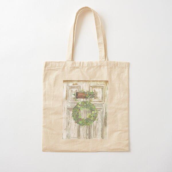 Essential Oils Cinnamon Wreath Cotton Tote Bag