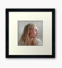 Iskra Lawrence Framed Print