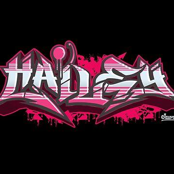 Hailey in Graffiti Burner by Jawnism