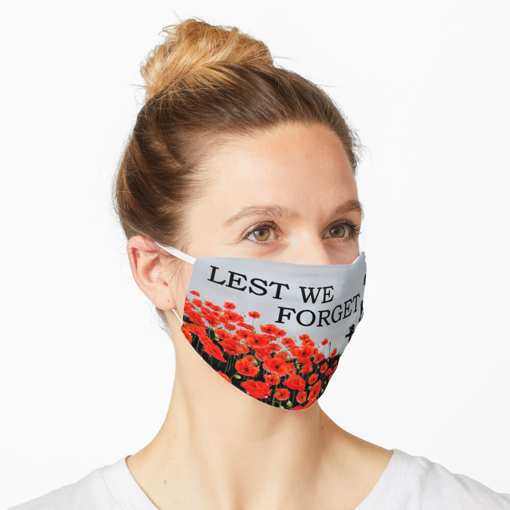 Lest We Forget Masks Mask