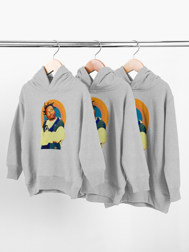 Alternate view of Old Dirty Bastard Halo Toddler Pullover Hoodie