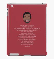 Tom Haverford-isms iPad Case/Skin