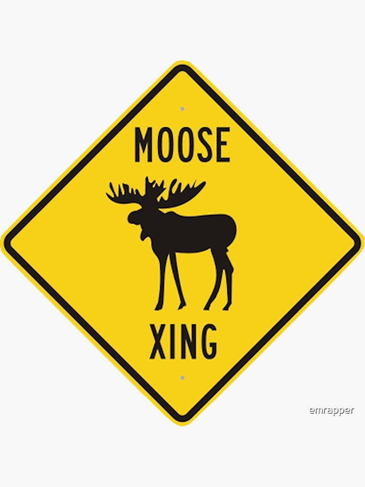 Moose Xing by emrapper
