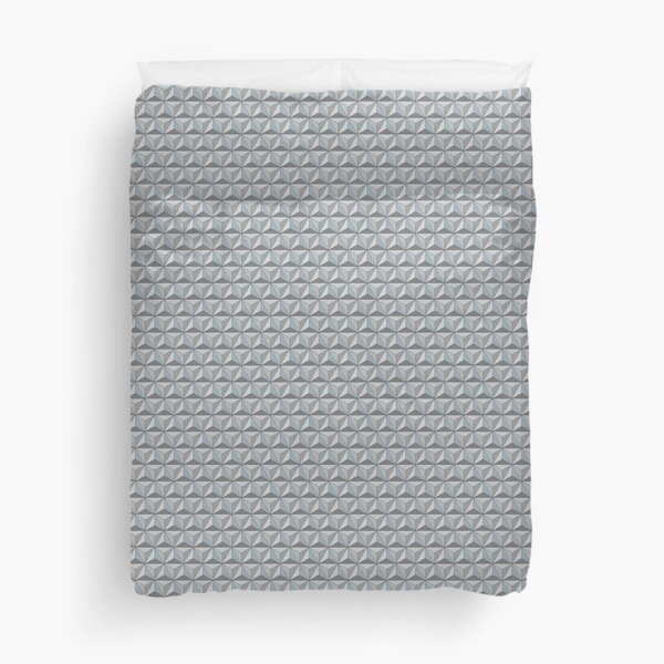 Spaceship Earth Geodesic  Duvet Cover