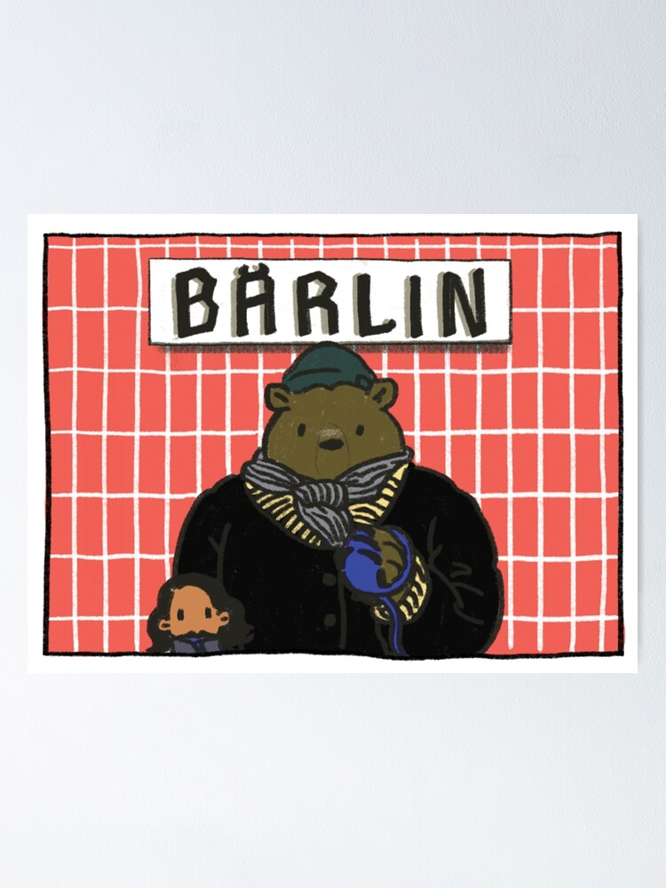 Alternate view of Bärlin Poster