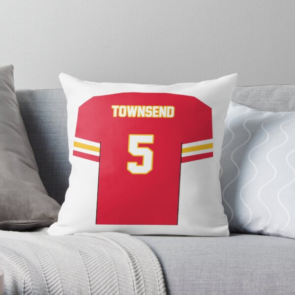 Tommy Townsend - Chiefs Jersey Throw Pillow