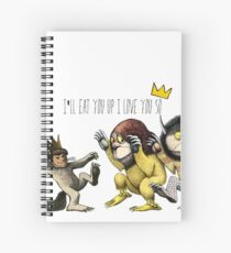 Where The Wild Things Are Spiral Notebook
