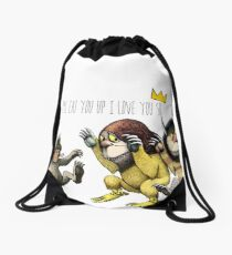 Where The Wild Things Are Drawstring Bag