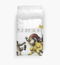 Where The Wild Things Are Duvet Cover