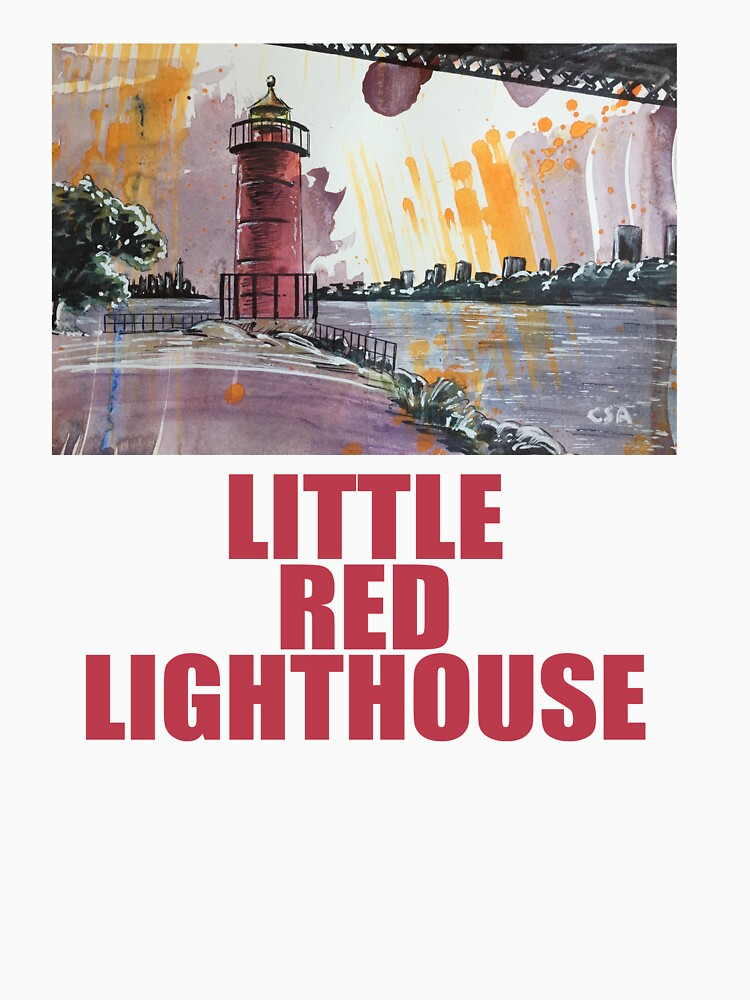 LITTLE RED LIGHTHOUSE by MasterpieceArt