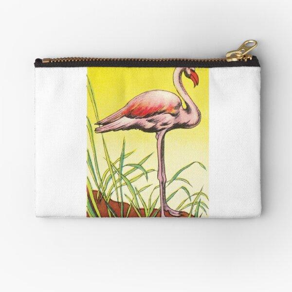 16 oiseaux stylisés : le flamant rose  Pochette
