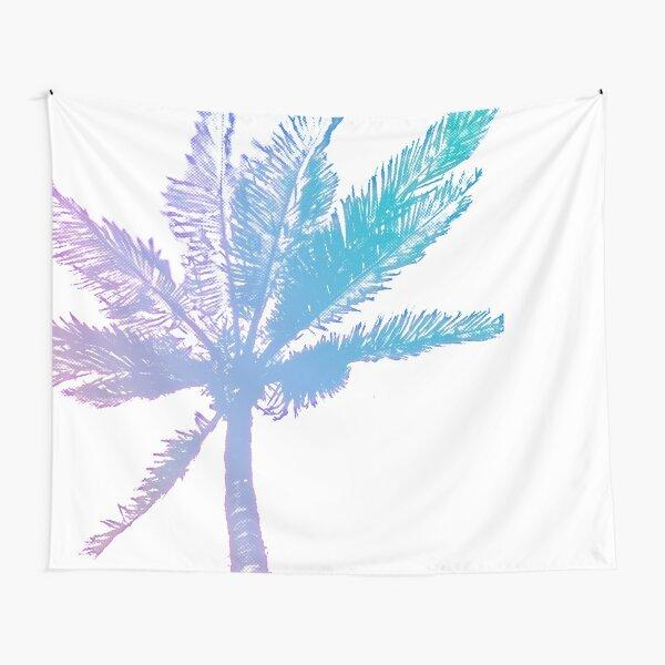 Halftone Palm– Iridescent Tapestry